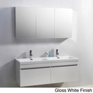 Virtu USA Zuri 55-Inch Double Sink Vanity