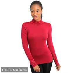 Stanzino Women's Long Sleeve Turtleneck
