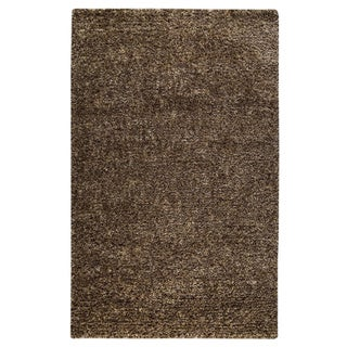 M.A.Trading Hand-woven Malibu Brown Wool/ Polyester Rug (8' x 10')