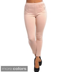 Stanzino Women's Stretch Cigarette Pants