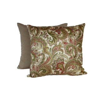 Noble Antique Throw Pillows (Set of 2)