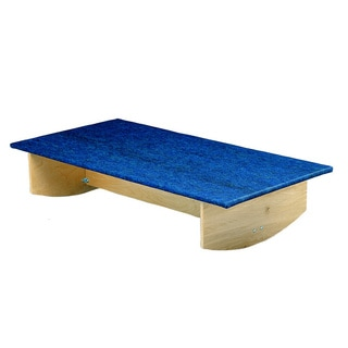 Rocker Board - Wooden with Carpet