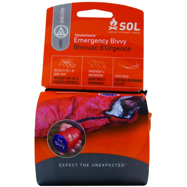 AMK SOL Emergency Bivvy, Orange/Silver