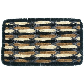 Rubber-Cal 'Gypsy' Coir Entrance Mat (18 x 30)