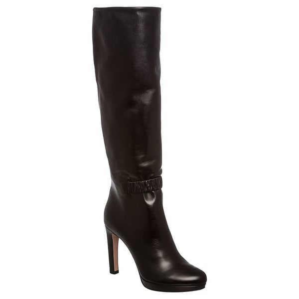 Wonderful  ChanningIIBlackTallLeatherWinterBootsWomensShoes1001637B