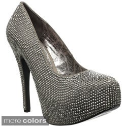 Bordello 'TEEZE-06RW' Women's Hidden Platform Pumps