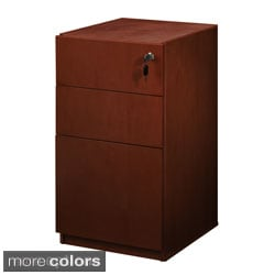 Mayline Luminary Box/Box/File Pedestal for Credenza or Return
