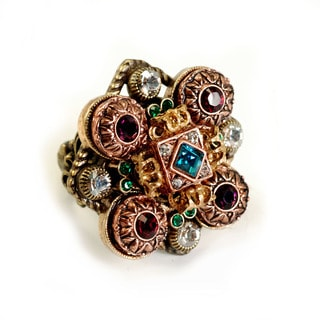Sweet Romance Renaissance Jewel Canterbury Ring