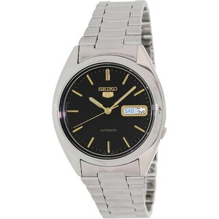 Seiko Men's '5 Automatic' Stainless Steel Automatic Watch