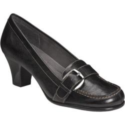 Women's A2 by Aerosoles Barista Black Synthetic