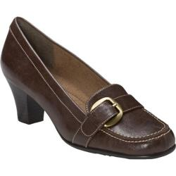Women's A2 by Aerosoles Barista Dark Brown Combo