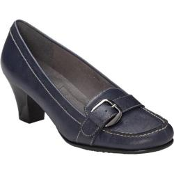 Women's A2 by Aerosoles Barista Navy Synthetic