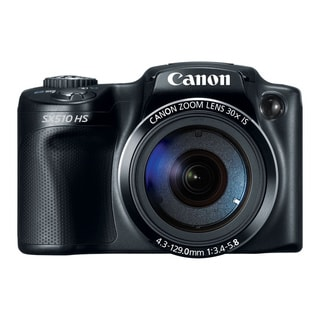 Canon PowerShot SX510 HS 12.1MP Black Digital Camera