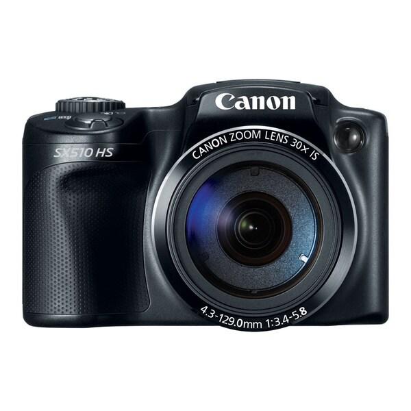 Canon PowerShot SX510 HS 12.1MP Black Digital Camera