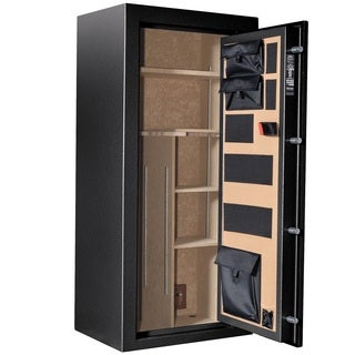 Cannon Scout Series Hammertone Black Gun Safe