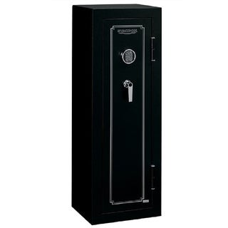 Stack-On 10-Gun Matte Black Security Safe