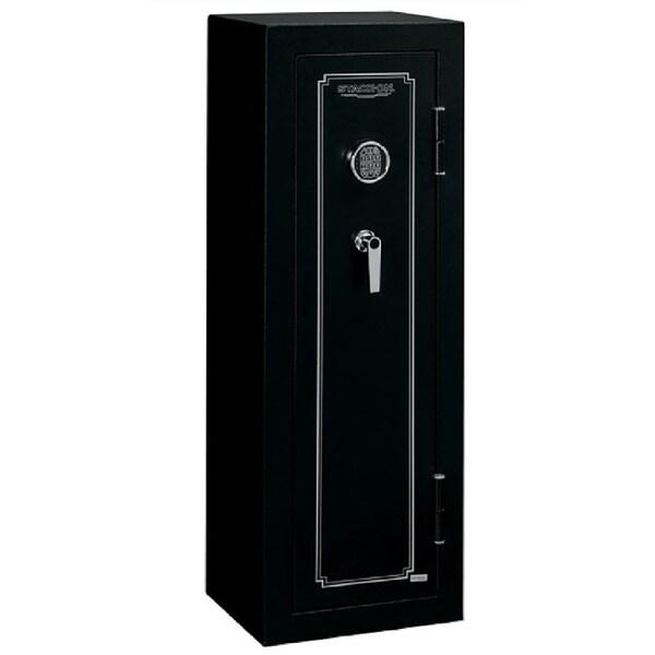 Stack-On 10-Gun Matte Black Security Safe