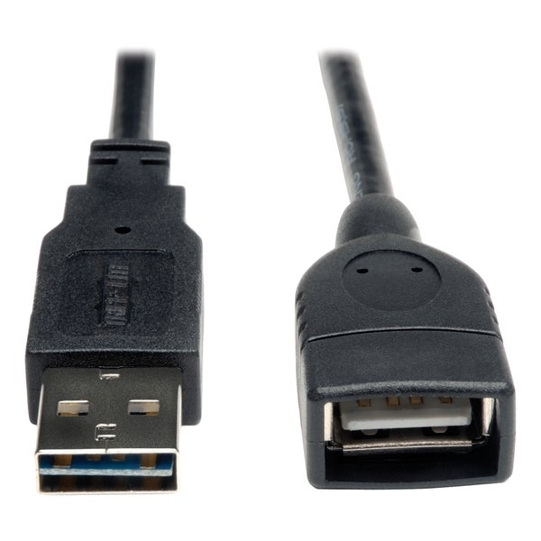 Tripp Lite Universal Reversible USB 2.0 Hi-Speed Extension Cable