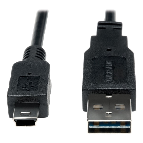Tripp Lite 6ft USB 2.0 High Speed Cable Reversible A to 5Pin Mini B M