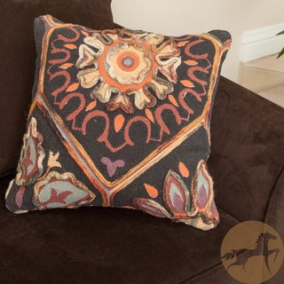 Christopher Knight Home Cadence Cotton Embroidered Pillow