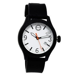 ESQ by Movado Unisex 'ESQ ONE' Silicone Strap Watch