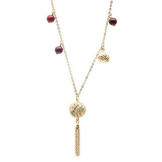Swarovski 'Susan' Goldplated Bead Necklace