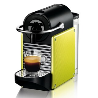 Nespresso D60 Electric Lime Pixie Espresso Machine