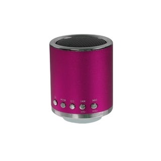BasAcc Hot Pink Mobile Speakers