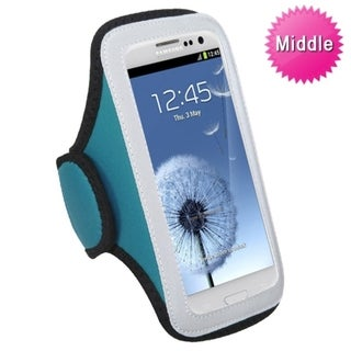 BasAcc Universal Baby Blue Sport Armband Case