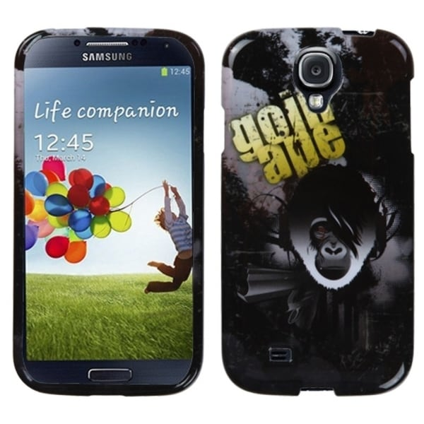 INSTEN Going Ape Phone Case Cover for Samsung Galaxy S4