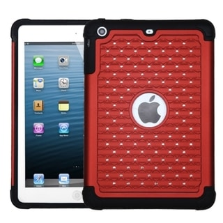 BasAcc Red/ Black TotalDefense Case for Apple iPad Mini