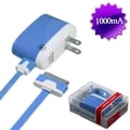 BasAcc 30-pin Blue Travel Charger for Apple iPhone 3G/ 3GS/ 4/ 4S