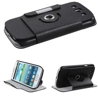 BasAcc Black Rotatable MyJacket Wallet for Samsung Galaxy S III