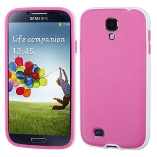 BasAcc White/ Pink Candy Belly Case for Samsung Galaxy S4