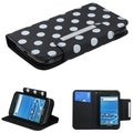 BasAcc Polka Dots/ Black MyJacket Case for Samsung T989 Galaxy S II