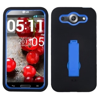 BasAcc Dark Blue/ Black Case with Stand for LG E980 Optimus G Pro