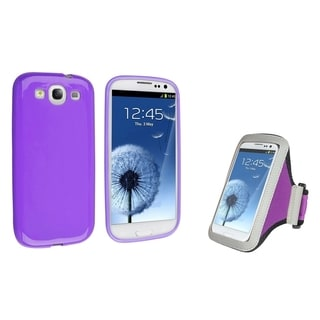 BasAcc Armband Case/ TPU Case for Samsung Galaxy Note II N7101