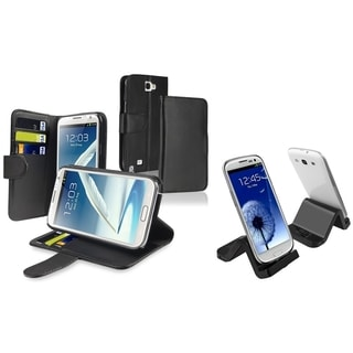 BasAcc Case/ Cradle/ Charger for Samsung Galaxy Note II N7100/ S IV/ S4 mini i9190