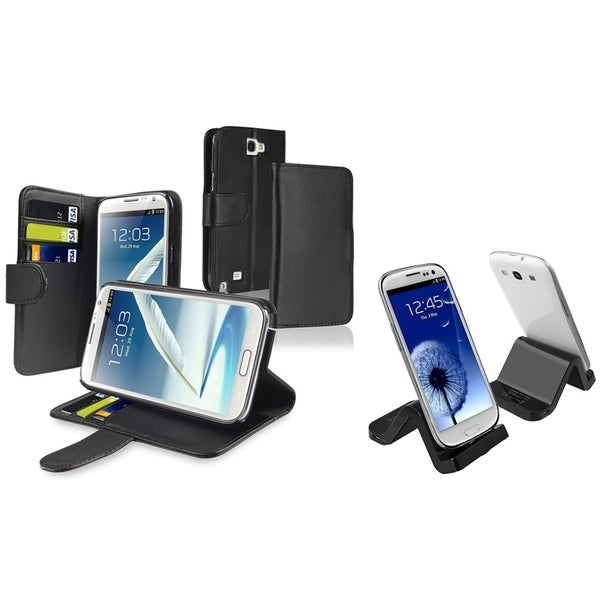 INSTEN Phone Case Cover/ Cradle/ Charger for Samsung Galaxy Note II N7100/ S IV/ S4 mini i9190