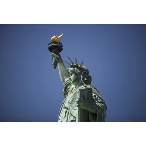 'The Statue of Liberty, Liberty Island, New York City, NY, USA' Photography Canvas Print