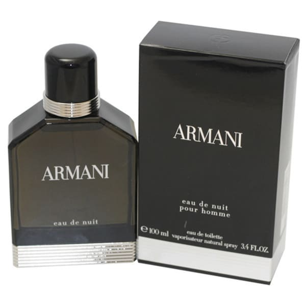 Giorgio Armani Eau de Nuit Men's 3.4-ounce Eau de Toilette Spray 11645815