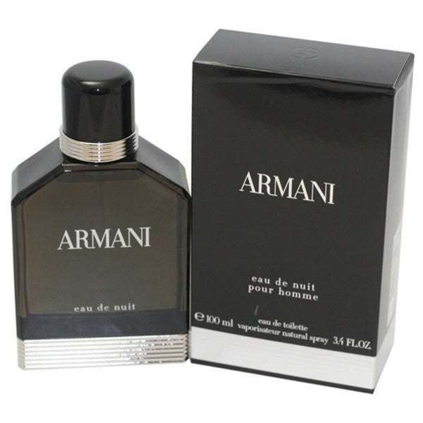Giorgio Armani Eau de Nuit Men's 3.4-ounce Eau de Toilette Spray