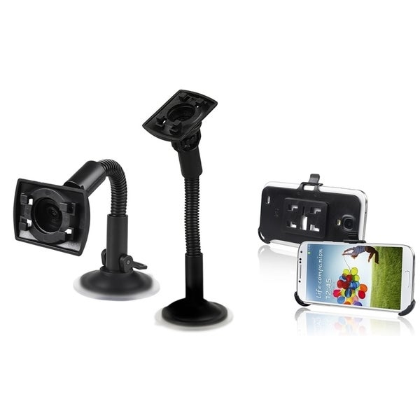 INSTEN Windshield Phone Holder Mount/ Plate for Samsung Galaxy S4