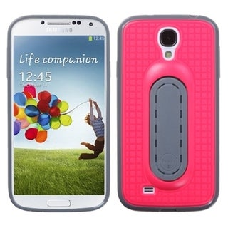 BasAcc Hot Pink Snap Tail Stand Case for Samsung Galaxy S4/ S IV
