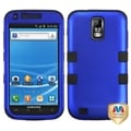 BasAcc Dark Blue/ Black TUFF Hybrid Case for Samsung T989 Galaxy S II