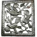 Handmade Three Birds Metal Wall Art (Haiti)