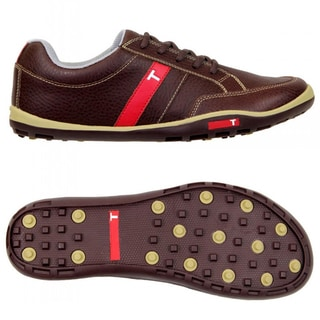 True Linkswear True Phoenix Brown/ Tan Golf Shoes