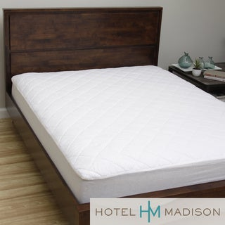 Hotel Madison 200 Thread Count Brushed Felt Waterproof Mattress Pad