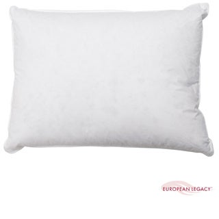European Legacy 230 Thread Count Three Chamber Down Pillow