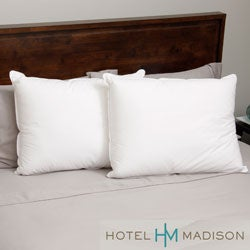 Hotel Madison 330 Thread Count Dual Core Down Alternative Pillow (Set of 2)